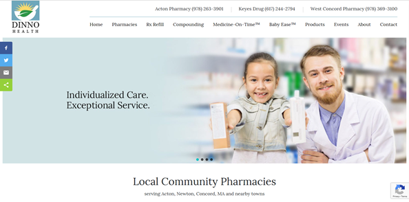 Local Pharmacies in Newton, Concord, and Acton, MA