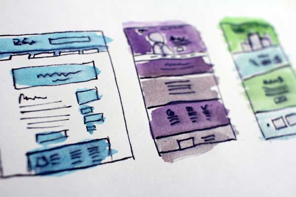 A/B testing for landing pages