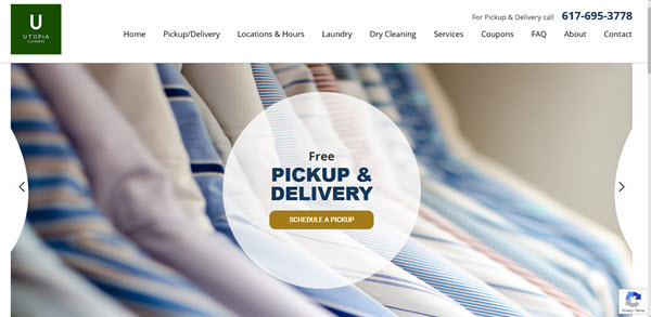 Utopia Cleaners - Boston dry cleaners